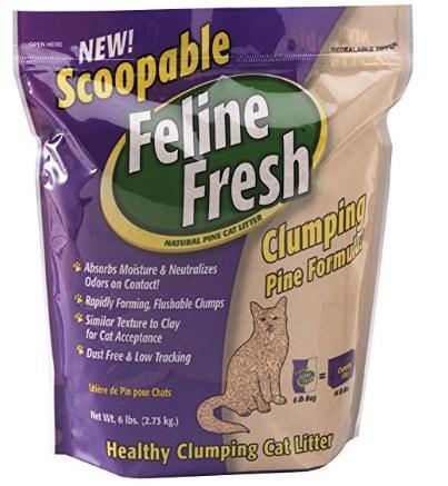 Feline Fresh Clumping Litter 6lbs