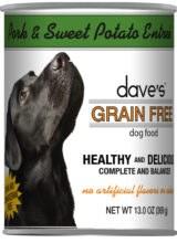 Dave's Pork & Sweet Potato Grain Free 13oz