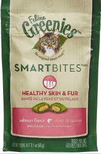 Greenies Healthy Skin & Fur Salmon 2.1oz