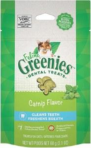 Feline Greenies 2.1oz Dental Treat Catnip