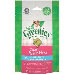 Feline Greenies 2.1oz Dental Treat Salmon