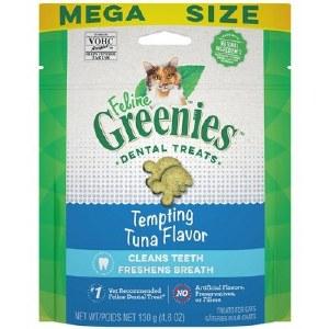 Feline Greenies 4.6oz Dental Treat Tuna