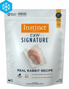 Nature's Variety Instinct 1.25 lb Rabbit Bites FROZEN
