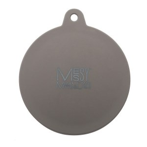 Messy Mutts Grey Silicone Can Cover