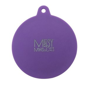Messy Mutts Purple Silicone Can Cover