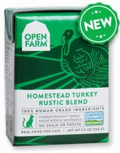 Open Farm 5.5oz Turkey Blend Cat