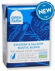 Open Farm 5.5oz Chicken & Salmon Blend Cat