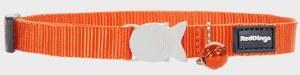 Red Dingo Orange Cat Collar