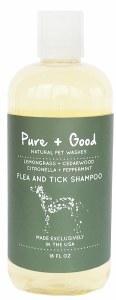 Pure + Good 18oz Flea & Tick Shampoo