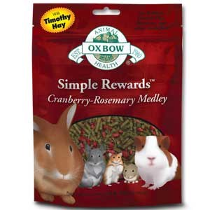 Oxbow 2.5oz Cranberry and Rosemary Treat