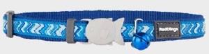 Red Dingo Pizzazz Dark Blue Cat Collar
