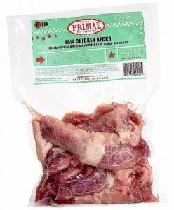 Primal 6ct Raw Chicken Necks FROZEN