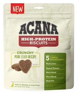 Acana 9oz Pork Liver Biscuits