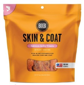 BIXBI 10oz Skin & Coat Salmon Jerky