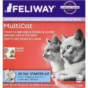 Feliway 30 Day MultiCat Starter Kit