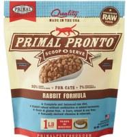 Primal 1 lb Rabbit Pronto (Cat)