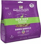 Stella & Chewy's 3.5oz Freeze Dried Duck Dinner Morsels (Cat)