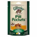 Greenies Pill Pockets Treats Chicken Cat 1.6oz