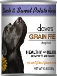 Dave's Duck & Sweet Potato Grain Free 13oz
