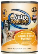 NutriSource Lamb & Rice 13oz