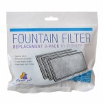Replacement Filters 3 Pack (Plastic Fountains) #3003