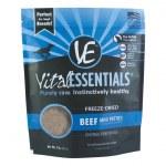 Vital Essentials 1 lb Freeze Dried Mini Beef Patties