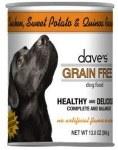 Dave's Grain Free Chicken/ Potato/ Quinoa 13oz