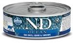 N&D 2.8oz Sea Bass, Squid, and Shrimp