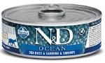 N&D 2.8oz Sea Bass, Sardine, & Shrimp