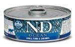 N&D 2.8oz Bonito & Shrimp