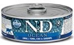 N&D 2.8oz Bonito, Cod, & Shrimp