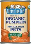Nummy Tum-Tum Pure Pumpkin 15oz
