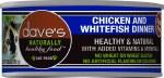 Dave's 5.5oz Chicken  & Whitefish