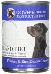 Dave's Restricted Bland Diet Chicken & Rice 13oz