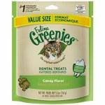 Greenies 5.5oz Dental Treats Catnip Treats Cat