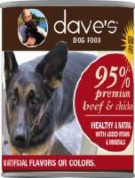 Dave's 95% Premium Meats Beef/ Chicken 13oz