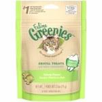 Greenies 2.5oz  Dental Treats Catnip Treats Cat