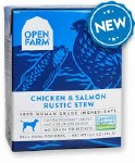 Open Farm Chicken & Salmon Stew 12.5oz Dog