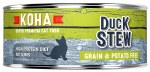 Koha Duck Stew 5.5oz Cat