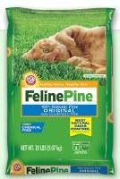Feline Pine Original Non-Clump Litter 20lbs