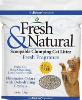 Fresh & Natural Scented Litter 40lbs