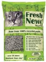 Fresh News Paper Cat Litter 25lbs