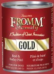Fromm 12.2oz GOLD Beef & Barley Pate
