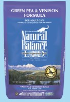 Natural Balance Limited Ingredient Diet Green Pea & Venison 4.5lbs