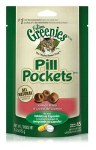 Greenies Pill Pockets Treats Salmon Cat 1.6oz