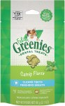 Feline Greenies 2.1oz Dental Treat Catnip