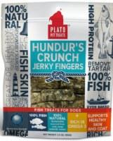 Plato Hundur's Crunch Fish Jerky Fingers 3.5oz