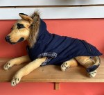 Canada Pooch Size 24 Navy Chalet Coat