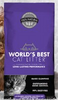 World's Best Cat Litter Lavender 28lbs