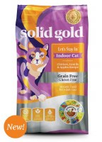 Solid Gold Indoor Cat with Chicken 6lbs